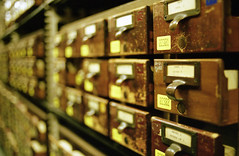 Card Catalogs at the Library of Congress by Eric Spiegel, on Flickr