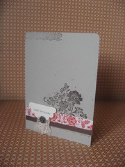 Fresh Vintage Card (boobalay1983) Tags: scrapbook stamp card stampinup freshvintage saleabration everydayenchanted