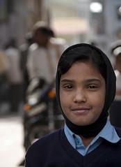 School Girl - D7K 1527 ep (Eric.Parker) Tags: street india muslim hijab schoolgirl niqab jaipur rajasthan 2012 2011 sanganer