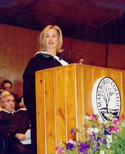 Commencement Speaker Jessica Lange, Actor.