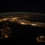 European Panorama (NASA, International Space Station, 01/25/12)