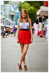 Street Portrait #249 (B.Image357) Tags: portrait woman cute sexy girl beautiful fashion lady female asian nikon singapore pretty faces sweet bokeh strangers streetphotography lifestyle style elegant orchardroad streetportraits cinematicmoments peopleinthecity candidandstreet d7000 sigma50mmf14exdghsm