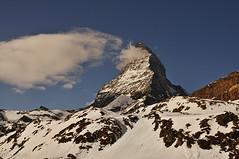 Matterhorn (Sbastien Locatelli) Tags: italy mountain ski alps montagne schweiz switzerland nikon peak summit zermatt matterhorn 1855mm horn alpen vr breuil afs valais cervinia dx cervin cervinio polarisant d5000