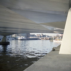 Under the bridge: the Torontobrug Amsterdam