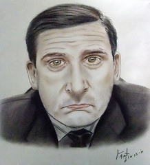"Actor Steve Carell as Michael Scott from ""The Office"" (fitzjim) Tags: show portrait ny silly hockey closeup paper movie nose nbc star tv funny comedy artist married drawing cartoon rollerderby tie company laugh caricature movies actor series scranton suite manager remake theoffice condominium iceskate bombers fired sitcom datenight stevecarell thatswhatshesaid the40yearoldvirgin bumbling getsmart worldsbestboss overthehedge hortonhearsawho michaelscott dundermifflin jimhalpert evanalmighty dwightschrute littlemisssunshine jimfitzpatrick regionalmanager daninreallife scrantonbranch scrantonpennsylvania papercompany andybernard agentmichaelscarn despicableme pamhalpert dinnerforschmucks crazystupidlove michaelscottpapercompany"