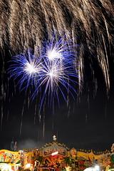 when curtain falls (redglobe*) Tags: light colour bulb night germany licht nikon fireworks carousel timeexposure lux mnster carrusel lumen sendmnster d5100