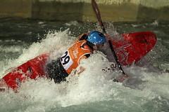 kayak 1 (thechangingman) Tags: wet sport whitewater kayak action paddle canoe adventure leevalley london2012 adrenalinsports
