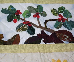 applique bear berries
