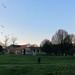 Winter, late afternoon - across Hartington Park towards Kemble Hall