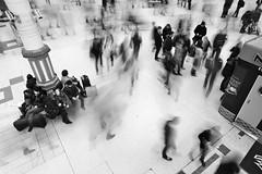 A bit of bustle (Steve Lundqvist) Tags: people urban motion art nikon slow faces top best shutter viaggi londra vacanze inghilterra