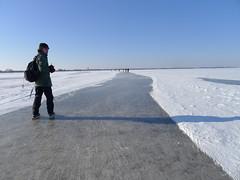 Natuurtocht Dwarsgracht (wisze) Tags: snow ice sneeuw skating   ijs schaatsen dwarsgracht   wieden  beulakerwiede