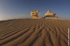 White desert (Sameh Wassef) Tags: blue camping camp sky white rock horizontal photography photo sand rocks desert dunes egypt ground fisheye oasis capture shape whitedesert westerndesert farafraoasis bahariaoasis gettyimagesmiddleeast