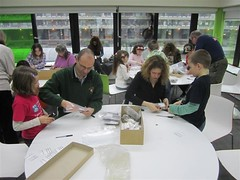 Half Term family groups in archaeology in action
