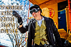 Michael Richartz (A Likely Story Creative Studio) Tags: hat canon orlando downtown gun models pearls wintergarden tophat handpainted comicbook superhero heels ornate villain hdr 2470l prop grungy steampunk tinyhat littlehat redheels draganeffect boler 2470 likelystory 60d alikelystory cfmp emilyfisher steampunkphotoshoot walterargueta kylegeldmaker michaelrichartz meghankonier