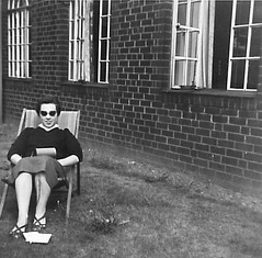 Noreen Shaw by nurses home 1954 -57 (Voices Through Corridors) Tags: 1950s nurseshome