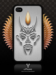 Devil iPhone 4S Case (alphadesigner) Tags: art creativity graphicdesign store artwork creative case product speck lfi alphadesigner iphone4 flickrarchive iphone4s