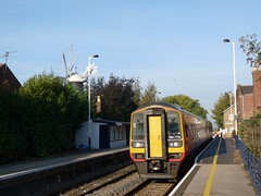 158770 Heckington (Corin Heathcote) Tags: uk railway lincolnshire dmu heckington class158 158770