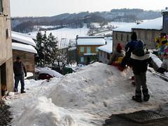 Neve a Castel Viscardo (TR) (vera.bianchini) Tags: neve sci castelviscardo