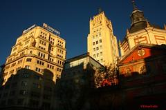 Vitalicio y Calatravas. Calle Alcal. Madrid (Carlos Vias-Valle) Tags: madrid edificios metropolis alcala vitalicio