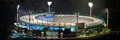 MCG 2 shot pano (Photography by Darren R) Tags: night football nikon sigma melbourne ground cricket 28 eureka mcg hawthorn afl skydeck 70200mm d90collingwood