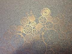 Copper plate: Bugs & Flowers (vormplus) Tags: flowers bugs lasercutter processingorg box2d