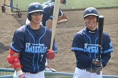 DSC_0550 (mechiko) Tags: 横浜ベイスターズ 120212 石川雄洋 渡辺直人 横浜denaベイスターズ 2012春季キャンプ