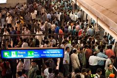 Rajiv Chowki Metro Station (zirano) Tags: rajiv chowk delhi metro station india indien republic