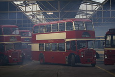 Bus Garage ambiance courtesy of L Gardner & Sons. (Renown) Tags: bus heritage museum bristol glasgow smoke central preserved smt ld doubledecker fs preservation busgarage ecw bridgeton 6g easterncoachworks lodekka b87 tvs367 gm9287