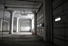 Orange Cone (Buckeye04) Tags: park ohio abandoned industrial factory warehouse pillars dayton urbex 223