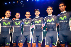 Presentacin Movistar Team 2012 (nuestrociclismo.com) Tags: ciclismo movistar telefnica movistarteam