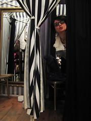 Tia's customer (Underpuppy) Tags: portrait people k newjersey jerseycity nj boutique jc changingroom grovestreet tiasplace