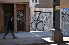 (Laser Burners) Tags: door nyc newyorkcity brooklyn dod less bushwick ykk miss17 citynoise noxer