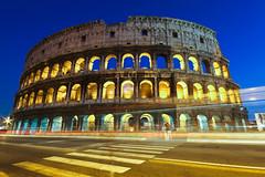 COLOSSEUM (Rober1000x) Tags: rome roma night europa europe amphitheatre coliseo fotos bluehour por 2012 lazio campomarzio colieseum agregado hourxnightxanfiteatro flavioxgladiatorsxcolosseumxflavian