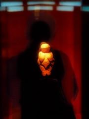 Contemplating on Venus von Willendorf - Naturhistorisches Museum Wien (hedbavny) Tags: shadow red sculpture orange reflection rot art me museum ego gold austria sterreich venus purple kunst fineart kultur skulptur naturalhistory blau frau ani contemplate ich reflexion schatten spiegelung selbstportrait schwarz niedersterreich vitrine farben reflektion violett fund geschichte bildung naturhistorischesmuseum venusvonwillendorf willendorf forschung kunstlicht purpur loweraustria workofart exponat archologie steinzeit niederoesterreich naturhistorischesmuseumwien wienvienna sterreichaustria anschauen betrachten kunstgeschichte kulturgeschichte naturgeschichte ausstellungsstck frhgeschichte rotrossorougerood frauenskulptur jungpalolithikum naturhistorischesmuseumderstadtwien betrachtungenanstellen frauenstatuette jngerealtsteinzeit venusstatuetten sdlichesniedersterreich