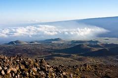 View of Mauna Loa (ChrisInAK) Tags: bigisland hawaii maunakea volcanoesnationalpark adventure clouds elevation forceofnature highaltitude hills island landscape mountain remote tropical tropics volcanic volcano wilderness