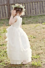 The after flower girl dress pic