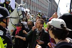 Stop the March For England (Findmelost) Tags: city uk ego riot nikon brighton protest police demonstration stop violence nikkor racism saintgeorge fascist activist skinhead prejudice saintgeorgesday 2470mmf28g marchforengland