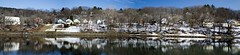 West Lebanon Panorama (oliva732000) Tags: panorama lebanon white house west reflection water architecture photoshop river flow wooden still vermont village flood connecticut low junction upper domestic valley vernacular plain wrj