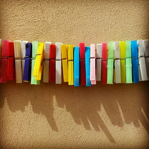 Colored clips