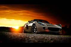 Red October. (VisualEchos) Tags: sunset storm nikon lotus flare lc exige d700 35f14g lightcapture