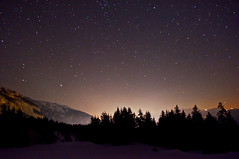 Gute Nacht, Crap da Flem (FVDB Photography) Tags: sky night stars schweiz switzerland gr laax flims ch sterne starrynight stargazing graubnden cassons flimserstein crapdaflem sterneberflims