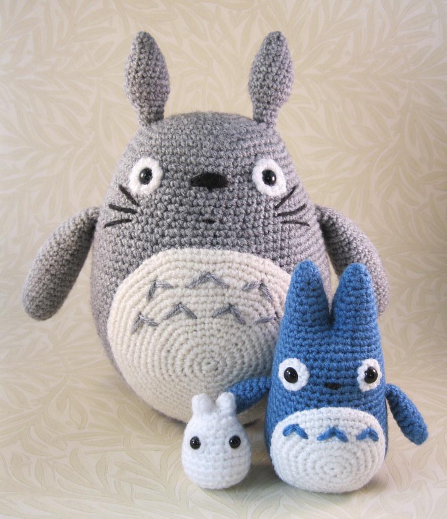 Amigurumi Totoro Pattern : The world s newest photos of crochet and miyazaki flickr
