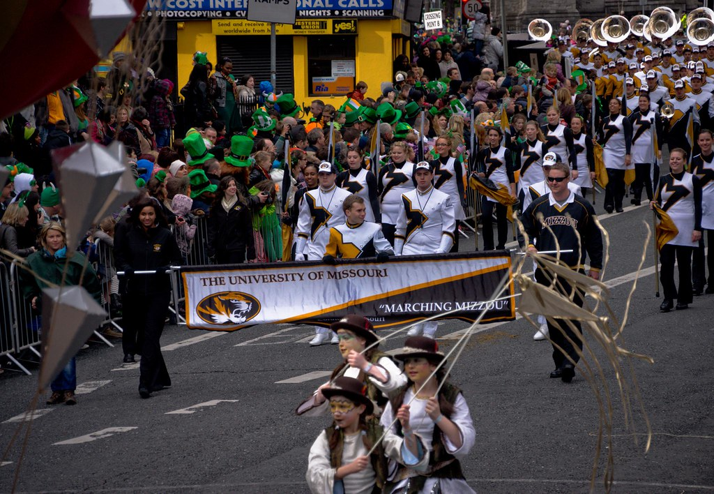 Patrick's Day Parade In Dublin (2012)