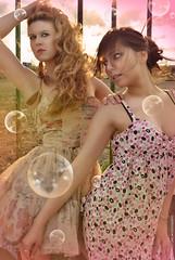 Little Light (NROmil) Tags: pink woman luz young rosa chicas belleza dulce sensualidad pompas miradas ternura calida jabón