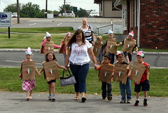 Walking to the Restaurant (Marlisa Osborne) Tags: fieldtrip preschool cincodemayo allaboutkids