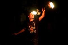 Earth Hour 2012 (mickymac49 (mmf)) Tags: portrait bw night fire 50mm nikon earth 14 hour ora terra wwf d90
