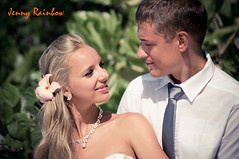 Yulia and Alexander. Sun Island Resort, Maldives (Jenny Rainbow_PhotoSessions) Tags: ocean wedding summer people woman sun man art love beach girl beauty smile hat lady youth fun island rainbow model nikon couple holidays honeymoon young makeup tie happiness sunny lagoon exotic human blond tropical destination tropic rest weddingdress maldives vacations carefree elegance caucasian neckless d300 whitedress honeymooners whitehat resort man sun weather photography wedding jenny hair beautiful woman fine handsome model release blond photosession