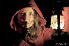 sz..., I saw something (illus00) Tags: portrait lamp canon dark quiet darkness fear littleredridinghood silence redridinghood kerosene tamron2875mmf28 50d tamron2875mmf28xrdildasphericalif