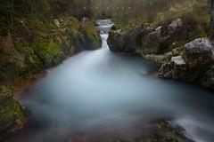 Twilight dreams (Ahio) Tags: longexposure water pool zeiss river landscape flow waterfall spring nikon stream april ríos 2014 21mm riverscape singhray purón zf2 distagont2821 d800e agnicieza