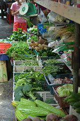 Fresh Vegetables @ Pasir Puteh (J2Kfm) Tags: market ipoh pasirputeh canninggarden